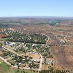 Aerial view of Orania