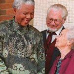 President Nelson Mandela, Carel Boshoff & Betsie Verwoerd at Orania