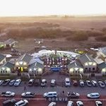 Aerial view of the Orania Shopping Centre