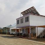 Shipping Container housing in Orania